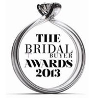 Winner of Best Designer 2013 Bridal Buyer Awards