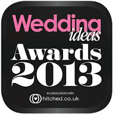 Winner of Best Designer 2013 Wedding Ideas Awards