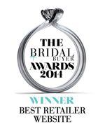 Best Bridal Retailer Website 2014